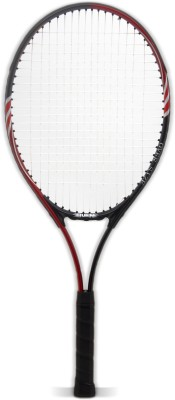 BURN BN509 Standard Strung Tennis Racquet (Red, Black, Weight - 270 g)