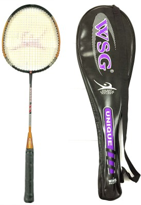 WSG Unique Strung Badminton Racquet (Multicolor, Weight - 110 g)