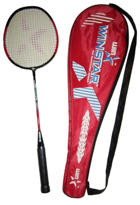 winstar STAR FORCE g4 Strung Badminton Racquet (Red, Black, Weight - 588)
