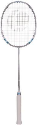 Artengo BR750 ADULT G4 Strung Badminton Racquet (Silver, Weight - 96 g)