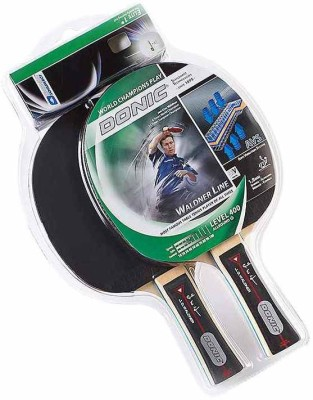 DSC Waldner Gift Set 400 Table Tennis Racquet (Black, Weight - 490 g)