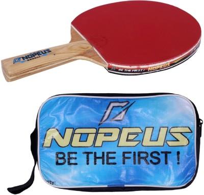 NOPEUS BOUNCE BLUE Table Tennis Racquet (Black, Red, Weight - 169 g)