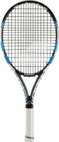Babolat Pure Drive Junior 26 G1 Strung Tennis Racquet (Black, Blue, Weight - 250)