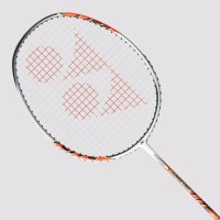 Yonex Isometric Lite 2 G4 Strung Badminton Racquet (White, Orange, Weight - 88)