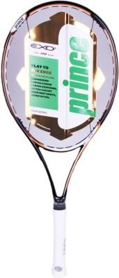 Prince EX o3 Tour 100 G4 Unstrung Tennis Racquet (Black, White, Weight - 328 g)