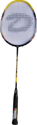 DSC Nano lite 900 Yellow/Black/Red G4 Strung Badminton Racquet (Yellow, Black, Red, Weight - 85 g)
