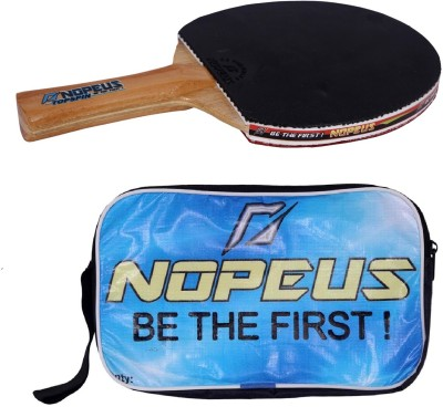 NOPEUS TOP SPIN BLUE Table Tennis Racquet (Black, Red, Weight - 169 g)
