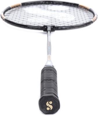 Silver's Blacken G3 Strung Badminton Racquet (Black)