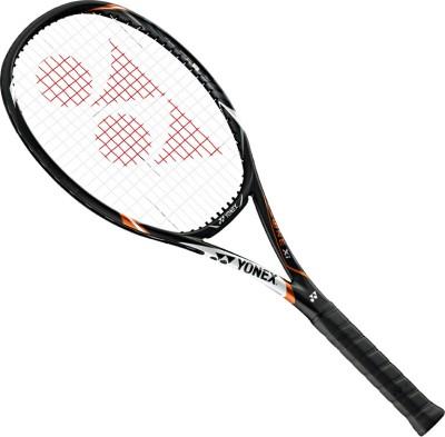 Yonex Ezone Xi 98 G4 Strung Tennis Racquet (Black, Orange, Weight - 310)