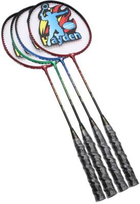 Hayden Hayden G4 Strung Badminton Racquet (Multicolor, Weight - 440 g)