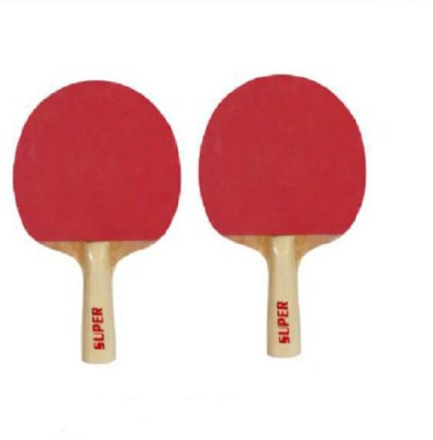 JJ JONEX SUPER Table Tennis Racquet (Red, Weight - 300 g)