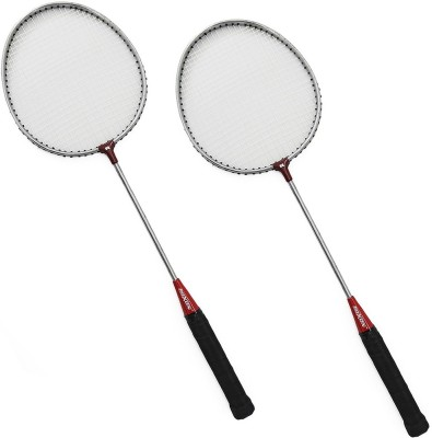 sunley roxon nickle coated racket set 6 Strung Badminton Racquet (Multicolor, Weight - 180 g)