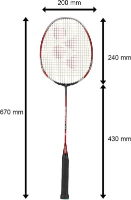 Yonex Muscle Power 22 Plus G4 Strung Badminton Racquet (Weight - 3U)
