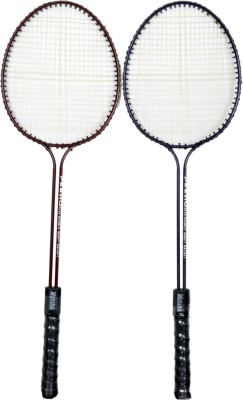 Star X Monika G4 Strung Badminton Racquet (Blue, Red, Weight - 300 g)