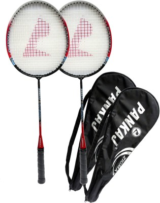 Pankaj zigma G4 strung Badminton Racquet (Multicolor, Weight - 400 g)