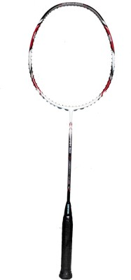 Gamma VIBRAM Series 3.0 G4 Unstrung Badminton Racquet (White, Red, Black, Weight - 85 g)