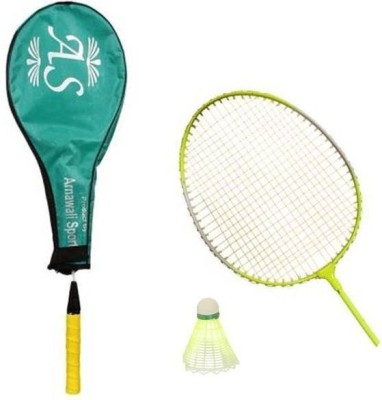 AS Wide Body G4 Strung Badminton Racquet (Multicolor, Weight - 350 g)
