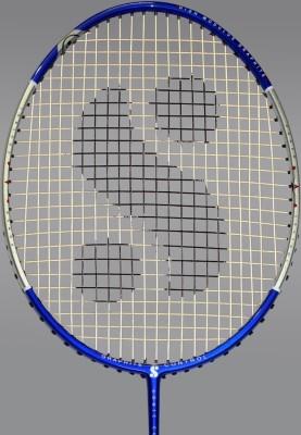 Silver's Shock-301 G3 Strung Badminton Racquet (Blue)