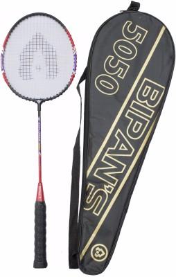 Bipan's Explorer 5050 G3 Strung Badminton Racquet (Black, Blue, Red, Weight - 110 g)