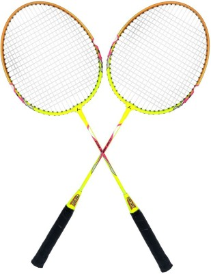 Guru X-WING-4 G4 Strung Badminton Racquet (Multicolor, Weight - 125 g)