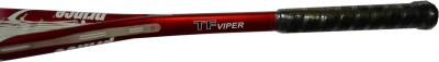 PRINCE TF VIPER G0 Strung Squash Racquet (Red, Weight - 175 g)