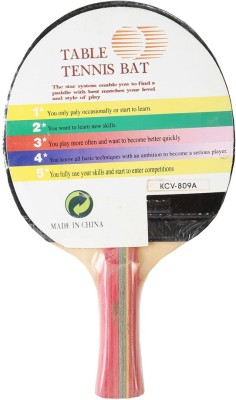 Toppro 5 Star G4 Strung Table Tennis Racquet (Multicolor, Weight - 85 g)