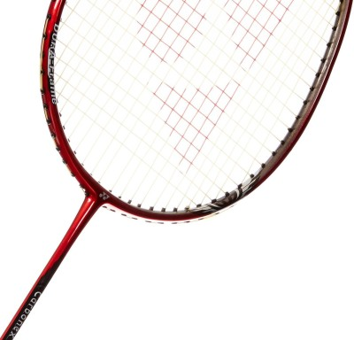 Yonex Carbonex 7000 EX G4 Strung Badminton Racquet (Red, Weight - 85 g)