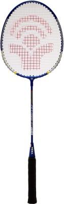 Vicky Jet G4 Strung Badminton Racquet (Blue, Silver, Weight - 85 g)