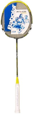 Babolat F2G Lite G2 Strung Badminton Racquet (Yellow, Weight - 84)