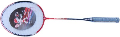 Golden Star Uniplus S\T G4 Strung Badminton Racquet (Multicolor, Weight - 350 g)