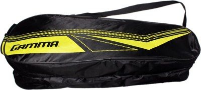 GAMMA Vectran 700 G4 Unstrung Badminton Racquet (Black, Yellow, Weight - 85 g)