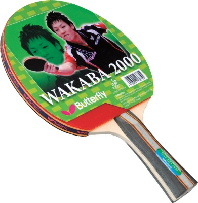 Butterfly Wakaba 2000 Table Tennis Racquet (Weight - 90 g)