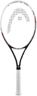 HEAD YouTek Graphene Speed REV G2 Strung Tennis Racquet (Black, Weight - 260 g)