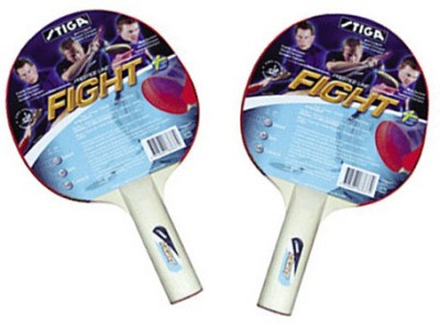 Stiga Fight Strung Table Tennis Racquet (Multicolor, Weight - 200 g)