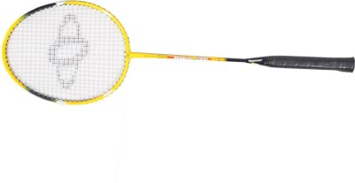 Sposon Mission 1000 G4 Strung Badminton Racquet (Yellow, Weight - 81 g)