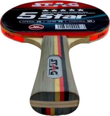 Stag 5 Star Table Tennis Racquet (Weight - 72 g)