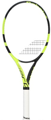 Babolat Pure Aero Lite L3 Unstrung Tennis Racquet (Yellow, Black, Weight - 330 g)
