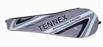 Tennex T-505 G4 Strung Badminton Racquet (Silver, Weight - 130 g)
