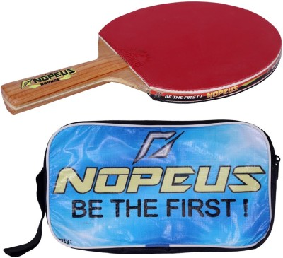 NOPEUS BOUNCE GREEN Table Tennis Racquet (Black, Red, Weight - 169 g)