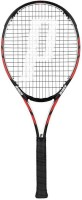 Prince Warrior 100 Standards Strung Tennis Racquet (Black, Red, Weight - 300)