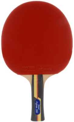 Nittaku Fighter 200 G4 Strung Table Tennis Racquet (Red, Weight - 180 g)