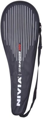 Nivia M-Power 300 G4 Badminton Racquet (Black, Yellow, Weight - 100 g)