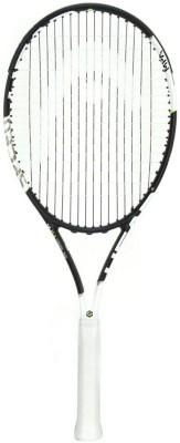Head Graphene XT Speed MP G4 Strung Tennis Racquet (Black, White, Weight - 317 g)