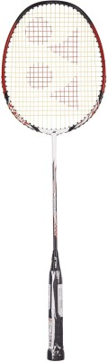 Yonex Nanoray 7000i G4 Strung Badminton Racquet (White, Red, Weight - 90 g)