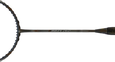 APACS FINAPI 262 Badminton Racquet with Leather Cover G1 Strung Badminton Racquet (Grey, Weight - 85 g)