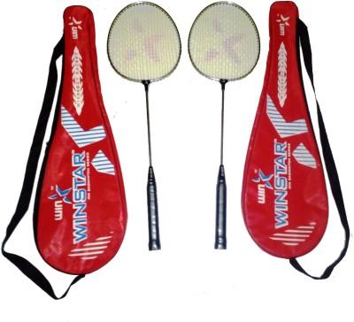 WINSTAR NICKLE PLATED G4 Strung Badminton Racquet (Multicolor, Weight - 588 g)