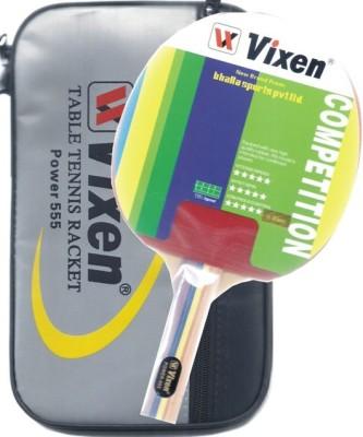 Vixen Power 555 0 Table Tennis Racquet (Multicolor, Weight - 350 g)