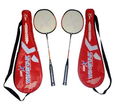 WINSTAR STAR FORCE COMBO G4 Strung Badminton Racquet (Multicolor, Weight - 588 g)