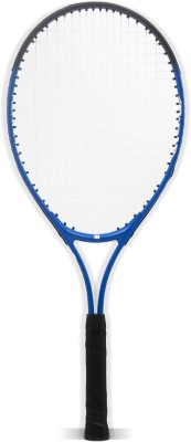 BURN Tornado25 Standard Strung Tennis Racquet (Blue, Black, Weight - 225 g)
