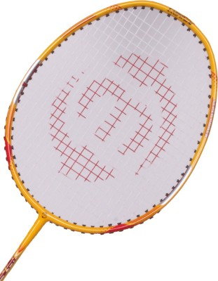 Maspro High Power G4 Strung Badminton Racquet (Yellow, Weight - 300 g)
